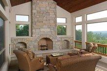 House Design - Classical Interior - Family Room Plan #928-55