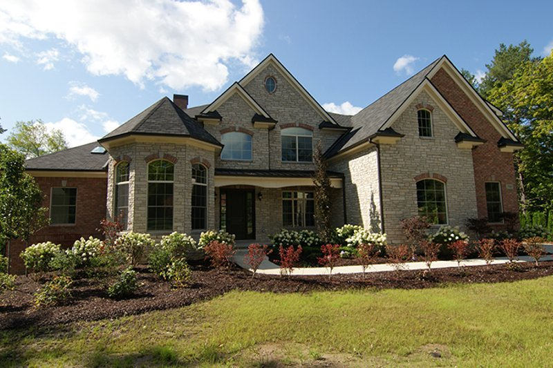 European Exterior - Front Elevation Plan #1057-2 - Houseplans.com
