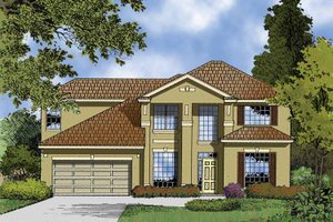 Architectural House Design - Contemporary Exterior - Front Elevation Plan #1015-51
