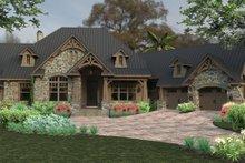 Dream House Plan - Craftsman Exterior - Front Elevation Plan #120-246