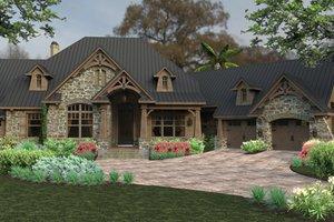 Craftsman Exterior - Front Elevation Plan #120-246