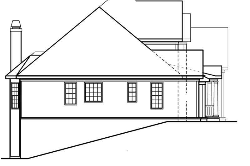 Country Exterior - Other Elevation Plan #927-472 - Houseplans.com