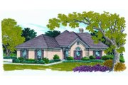 Traditional Style House Plan - 4 Beds 2 Baths 2200 Sq/Ft Plan #45-371 Exterior - Front Elevation