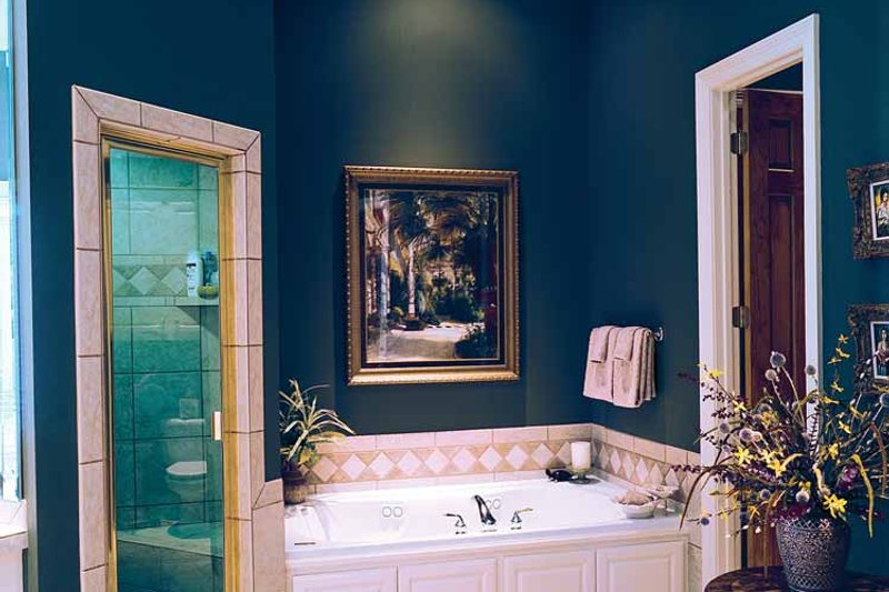 Classical Interior - Bathroom Plan #45-413 - Houseplans.com