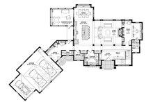 European Floor Plan - Main Floor Plan Plan #928-342