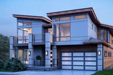 Home Plan - Contemporary Exterior - Front Elevation Plan #1066-31