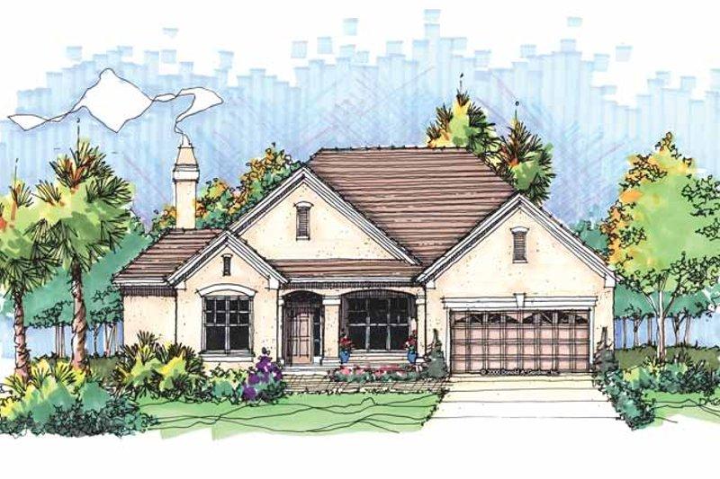 Ranch Exterior - Front Elevation Plan #929-592 - Houseplans.com
