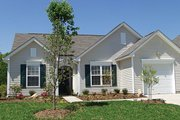 Traditional Style House Plan - 3 Beds 2 Baths 1151 Sq/Ft Plan #453-61 Exterior - Other Elevation
