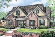 Home Plan - Traditional Exterior - Front Elevation Plan #929-781