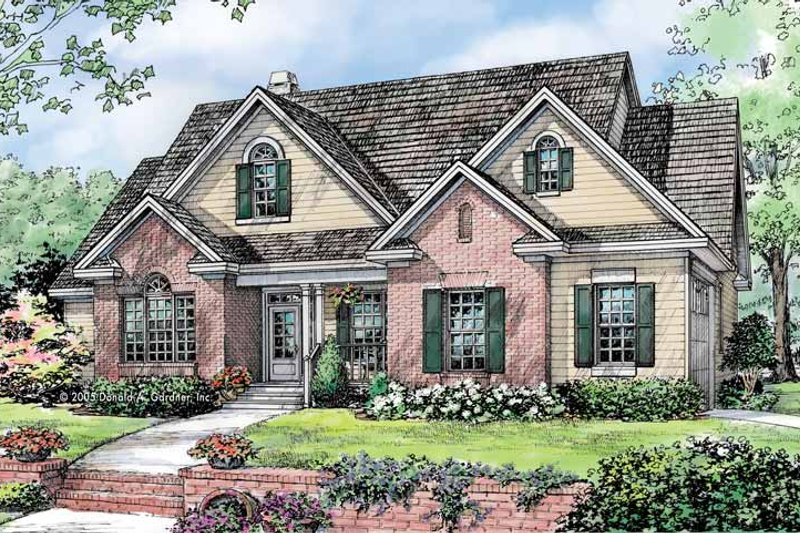 House Design - Traditional Exterior - Front Elevation Plan #929-781