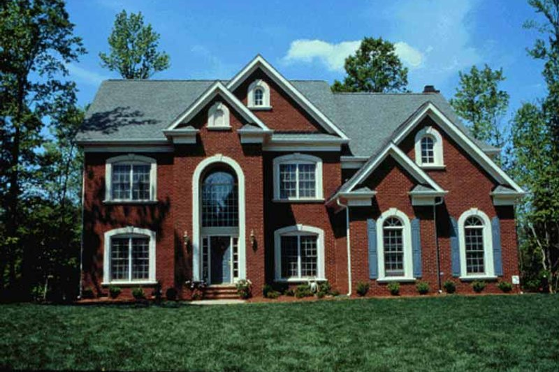 Dream House Plan - Colonial Exterior - Front Elevation Plan #453-351