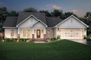 Home Plan - Craftsman Exterior - Front Elevation Plan #430-78