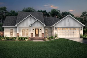 Home Plan - Craftsman Exterior - Front Elevation Plan #430-78