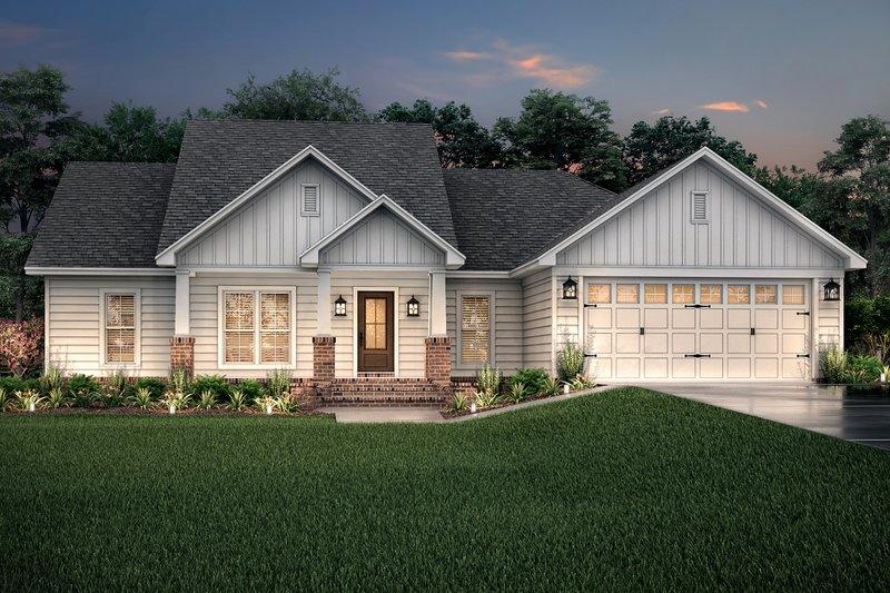 House Plan Design - Craftsman Exterior - Front Elevation Plan #430-78