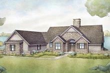 Cottage Exterior - Front Elevation Plan #928-336