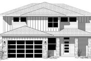 Contemporary Style House Plan - 4 Beds 2.5 Baths 2274 Sq/Ft Plan #943-49 Exterior - Front Elevation