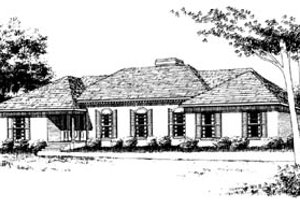 Traditional Exterior - Front Elevation Plan #10-149