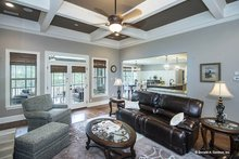 Dream House Plan - Country Interior - Family Room Plan #929-969