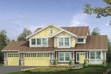 Craftsman Exterior - Front Elevation Plan #132-357