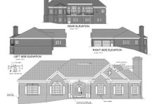 Dream House Plan - Southern Exterior - Rear Elevation Plan #56-198