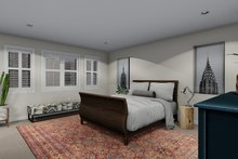 House Plan Design - Traditional Interior - Master Bedroom Plan #1060-63