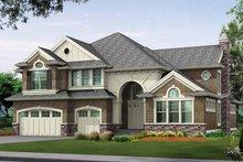 Craftsman Exterior - Front Elevation Plan #132-350