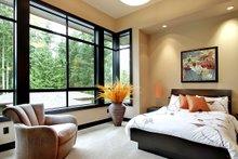 Modern Interior - Bedroom Plan #132-221