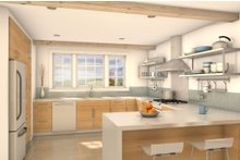 Traditional Interior - Kitchen Plan #497-39