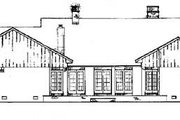Traditional Style House Plan - 4 Beds 3 Baths 3158 Sq/Ft Plan #45-163 Exterior - Rear Elevation