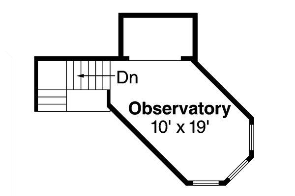 Country Floor Plan - Upper Floor Plan Plan #124-917