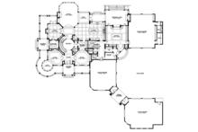 Craftsman Floor Plan - Main Floor Plan Plan #132-565