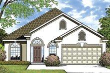 House Plan Design - European Exterior - Front Elevation Plan #417-849