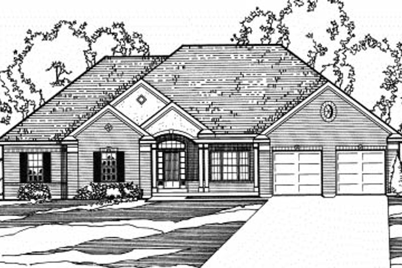 Traditional Exterior - Front Elevation Plan #31-128