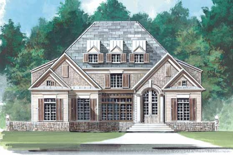 Traditional Exterior - Front Elevation Plan #119-405
