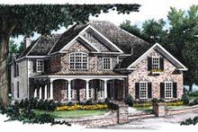 House Plan Design - Country Exterior - Front Elevation Plan #927-672
