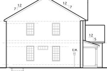 Traditional Exterior - Other Elevation Plan #1053-55
