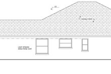 Mediterranean Exterior - Other Elevation Plan #1058-40
