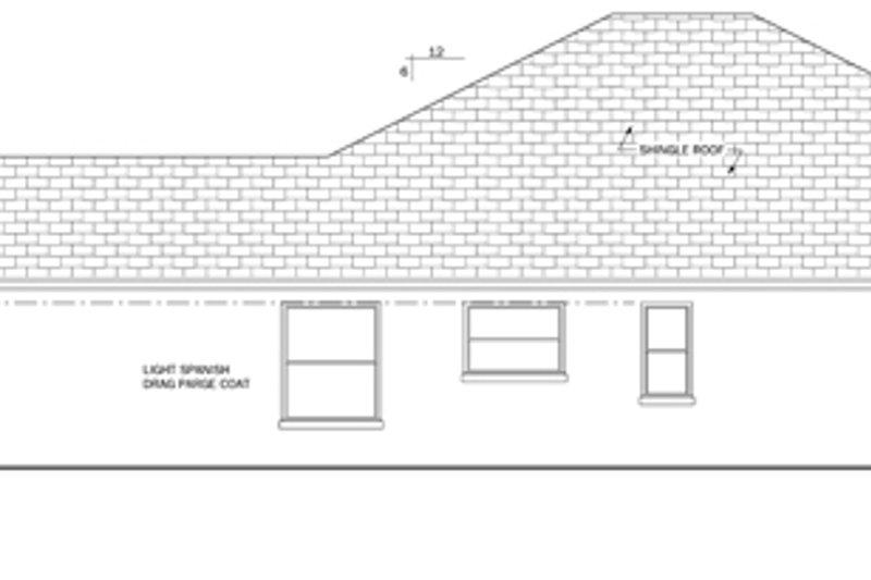 Mediterranean Exterior - Other Elevation Plan #1058-40 - Houseplans.com