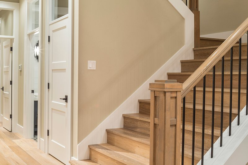 Stairs - 4900 square foot Colonial home