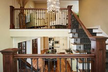 Craftsman Interior - Entry Plan #928-295