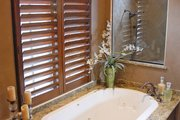 Mediterranean Style House Plan - 3 Beds 3 Baths 4795 Sq/Ft Plan #1058-15 Interior - Master Bathroom