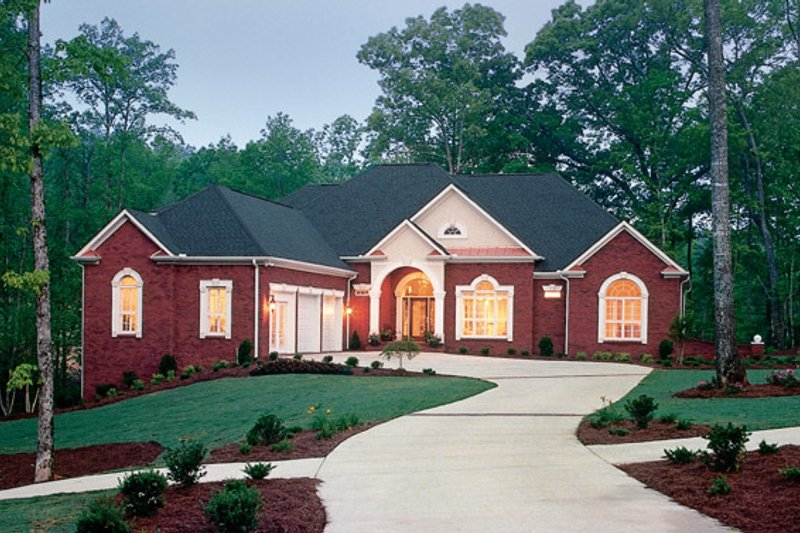 Country Exterior - Front Elevation Plan #927-116 - Houseplans.com