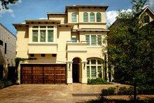 House Design - Mediterranean Exterior - Front Elevation Plan #1021-13
