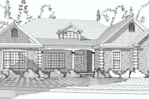 Traditional Exterior - Front Elevation Plan #63-194