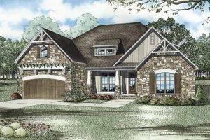 Architectural House Design - Cottage Exterior - Front Elevation Plan #17-3279