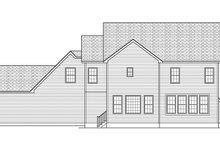 House Plan Design - Traditional Exterior - Rear Elevation Plan #1010-135