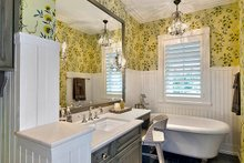 Dream House Plan - Country Interior - Bathroom Plan #1017-157