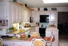 Country Interior - Kitchen Plan #314-198