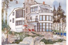Contemporary Exterior - Front Elevation Plan #928-31