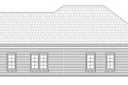 Craftsman Style House Plan - 2 Beds 2 Baths 1228 Sq/Ft Plan #932-26 Exterior - Rear Elevation